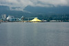 This pile of pure Sulphur across the bay from downtown Vancouver practically glowed against the drab background.