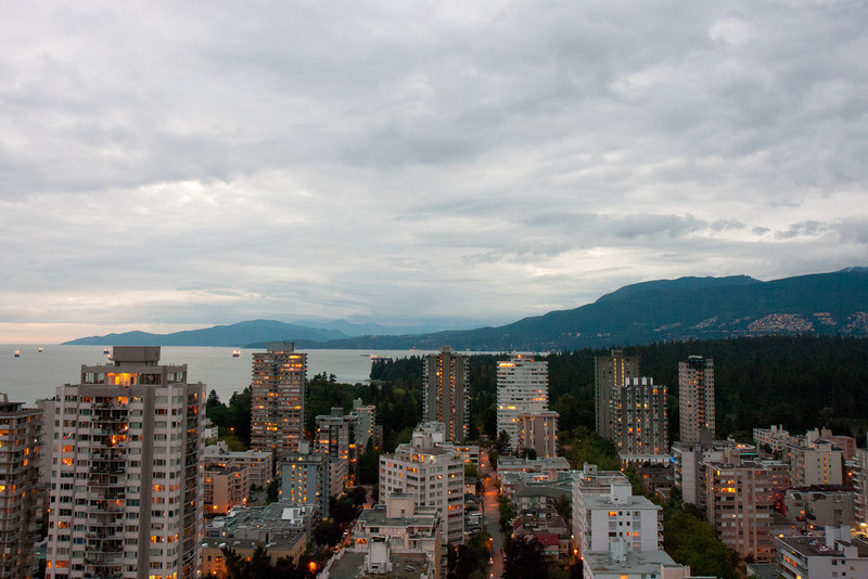 Photos from our Suite at Coast Plaza & Hotel Suites, Vancouver