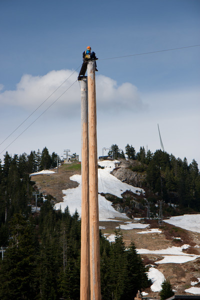 Grouse Mountain-Lumberjack Show