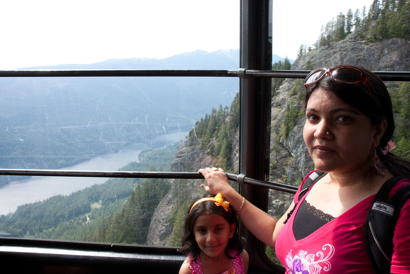 Grouse Mountain-Gondola