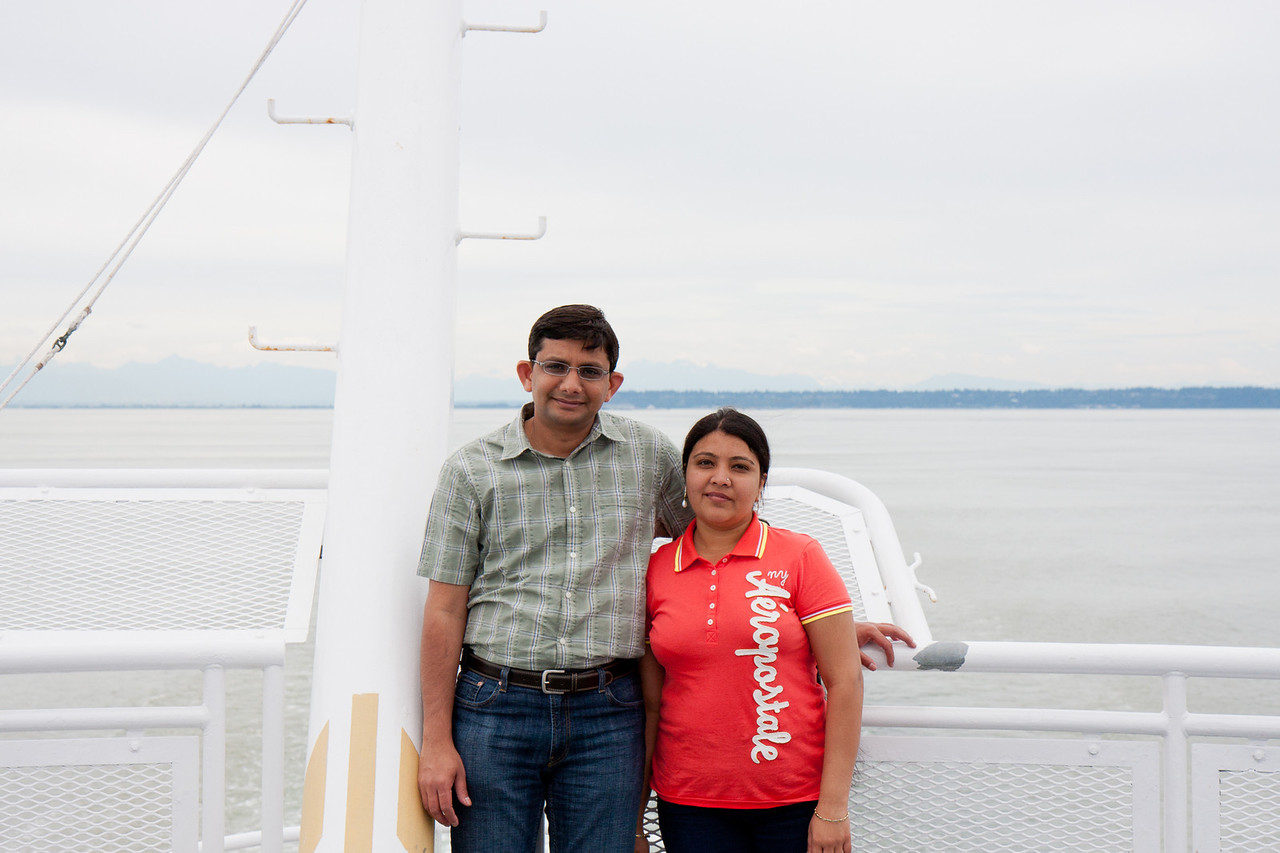 Ferry from Vancouver to Victoria