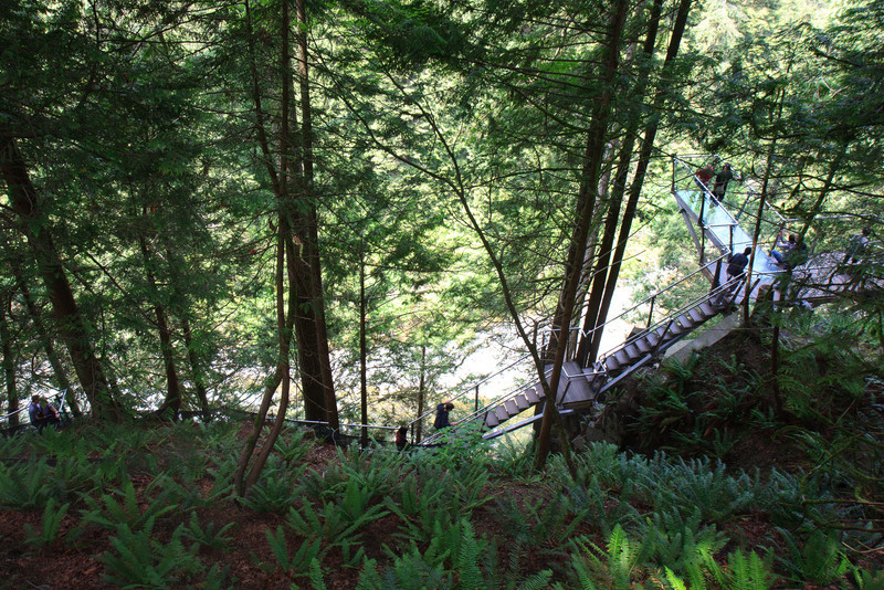 Cliff Walk, Capilino Suspension Bridge, Vancouver
