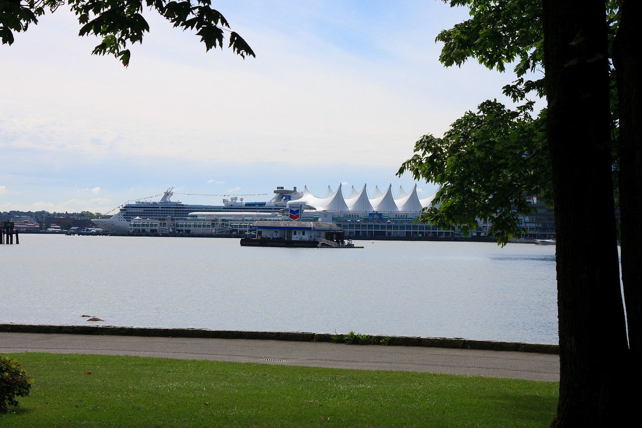 Photo of Canada Place from Sea Wall, Stanley Park, Vancouver