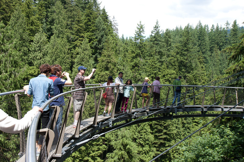 Cliff Walk, Capilano Suspension Bridge, Vancouver