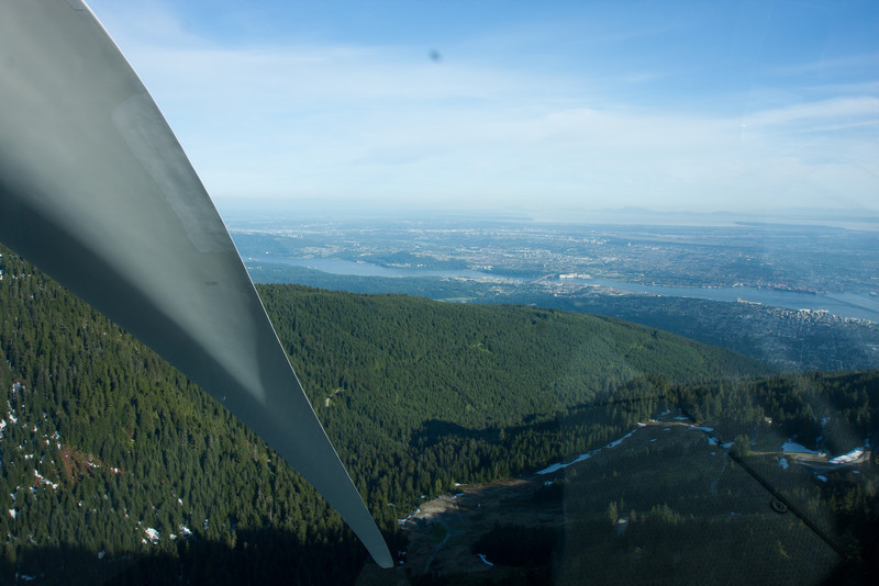 Grouse Mountain-Eye of Wind Turbine