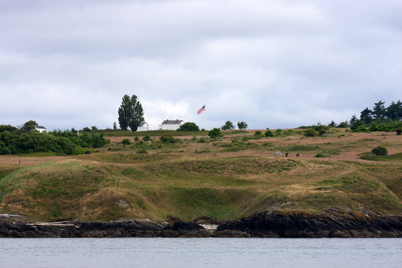 We almost hit United States border of Washigton city during Whale Watching Boat Cruise