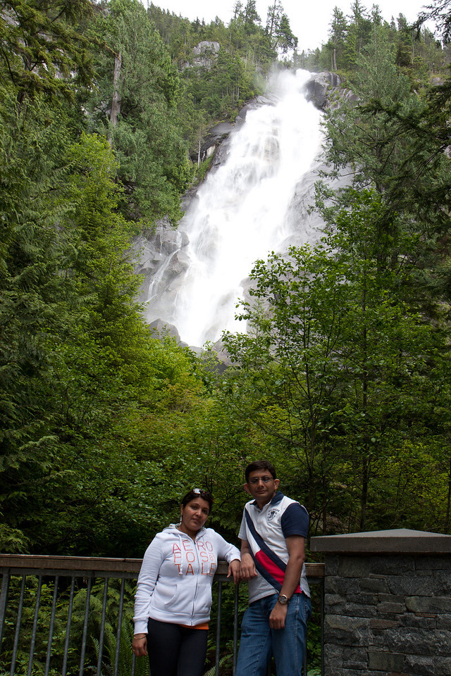 Shannon Falls on Sea to Sky Highway