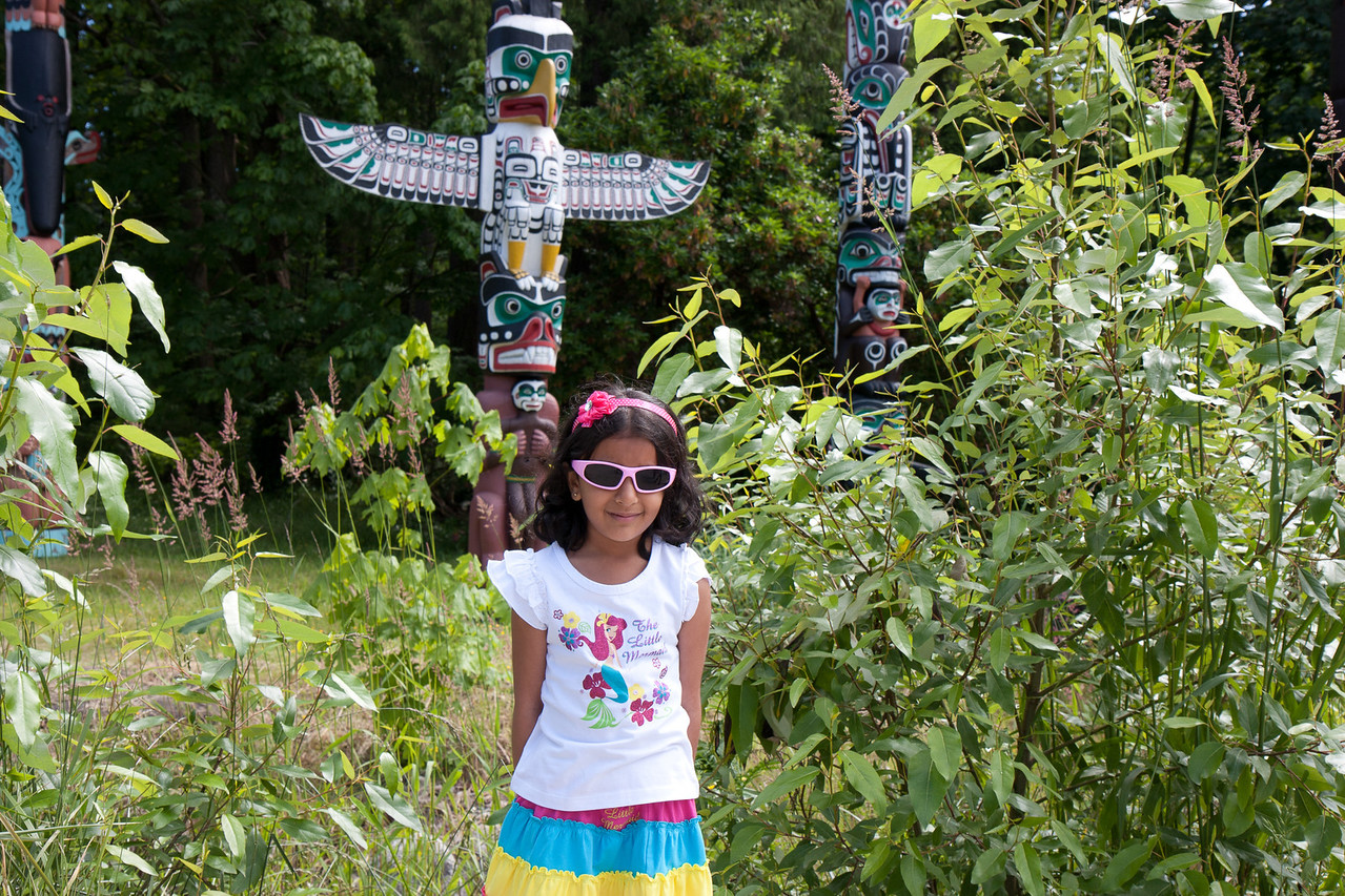 Totem Ploes, Stanley Park, Vancouver
