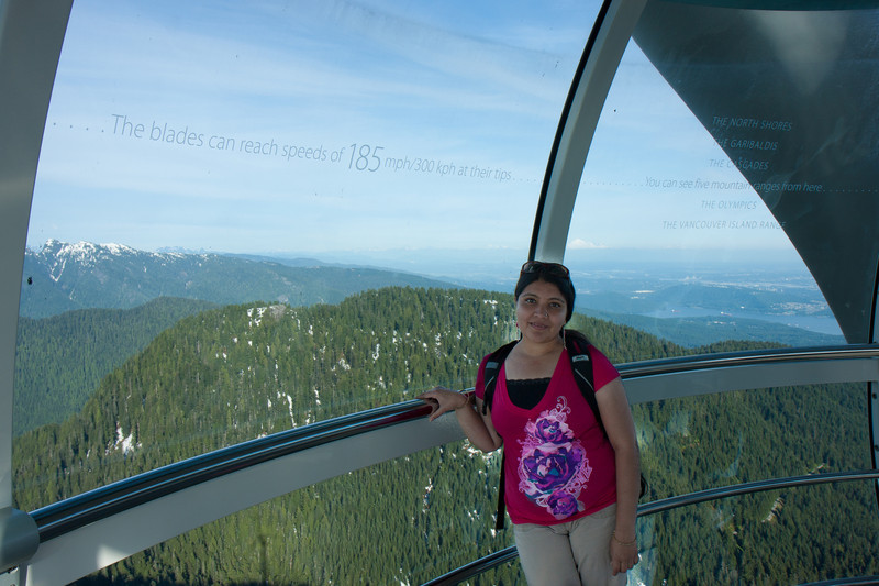 Grouse Mountain-Eye of the Wind