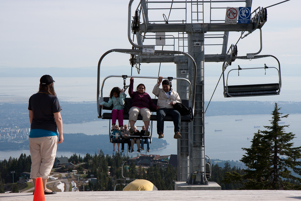 Grouse Mountain-Chair Lift