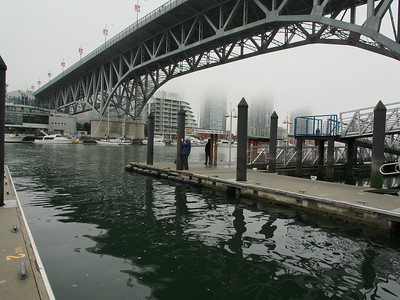 Oct. 19/13 - On Granville Island dock