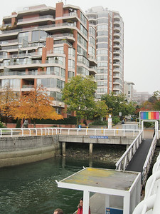 Oct. 19/13 - View from Hornby Street Dock