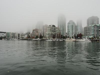 Oct. 19/13 - On Granville Island dock