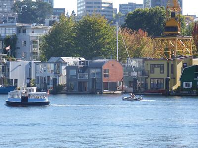 Sea Village Houseboats On Granville Island