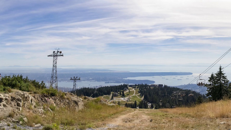 Grouse Mountain Chairlift Video