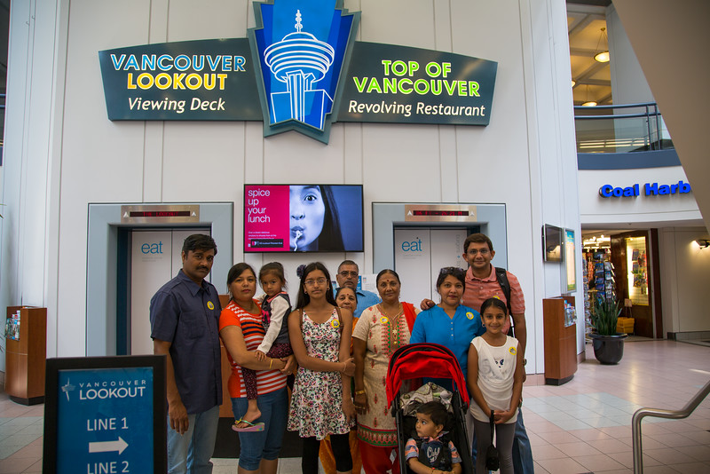 Vancouver Lookout Tower Entrance