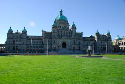 Victoria BC  Parlament