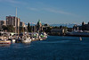 The inner harbor at Victoria, BC