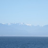 The Olympic Mountains from James Bay