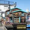 Floating homes at Fisherman's Wharf