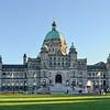 Victoria BC Parliament<br /> 2-shot pano