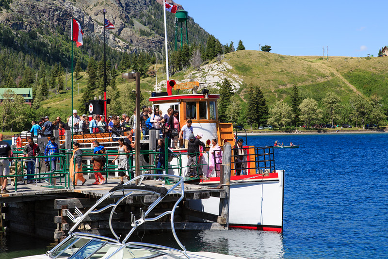 Waterton Lake Ferry