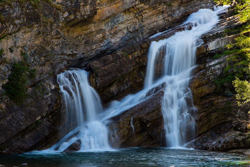 Cameron Falls - Waterton