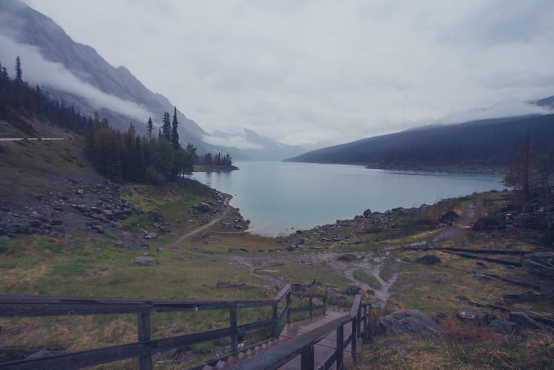 Medicine Lake in Jasper