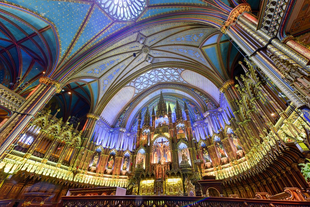 Notre-Dame Basilica - Montreal, Canada