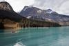 Canoe, Emerald Lake, Yoho National Park, British Columbia, Canada, North America