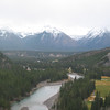 View from the Fairmont Banff Springs Hotel