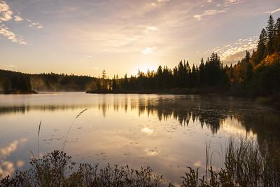 Sunrise in Parc national du Mont-Tremblant