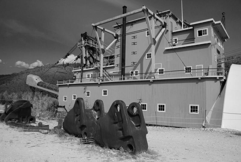 'Dredge 4',  Dawson City,  Yukon
