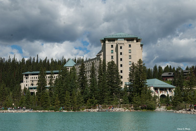 Banff National Park, Chateau Lake Louise (1890)