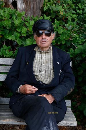 Man in Stanley Park 2202