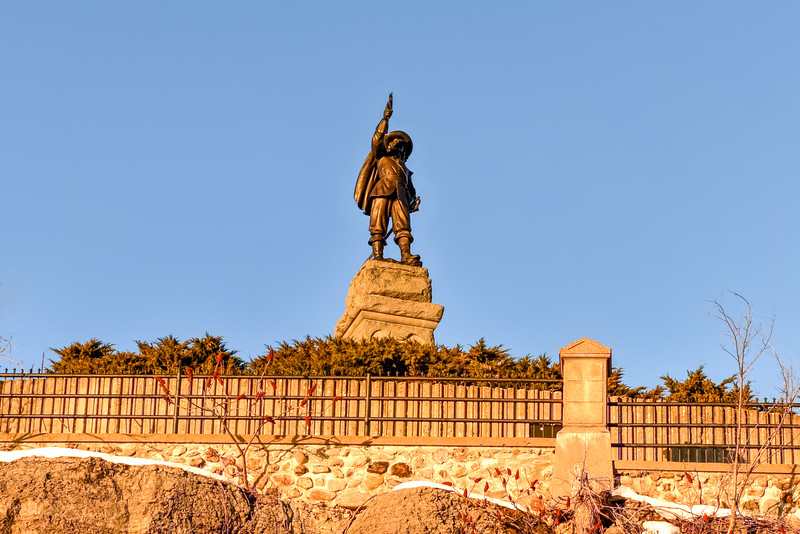 Samuel de Champlain Statue - Ottawa, Canada