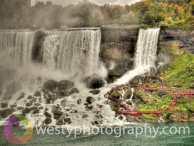 Niagara Walk-ways - US Falls