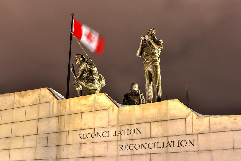 Reconciliation: The Peacekeeping Monument - Ottawa - Canada