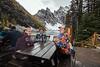 Lake Agnus Tea House, Banff National Park, Alberta, Canada, North America