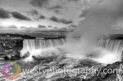 Maid in the Mist - BW