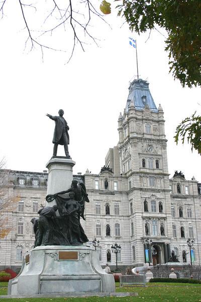 Quebec City government building.