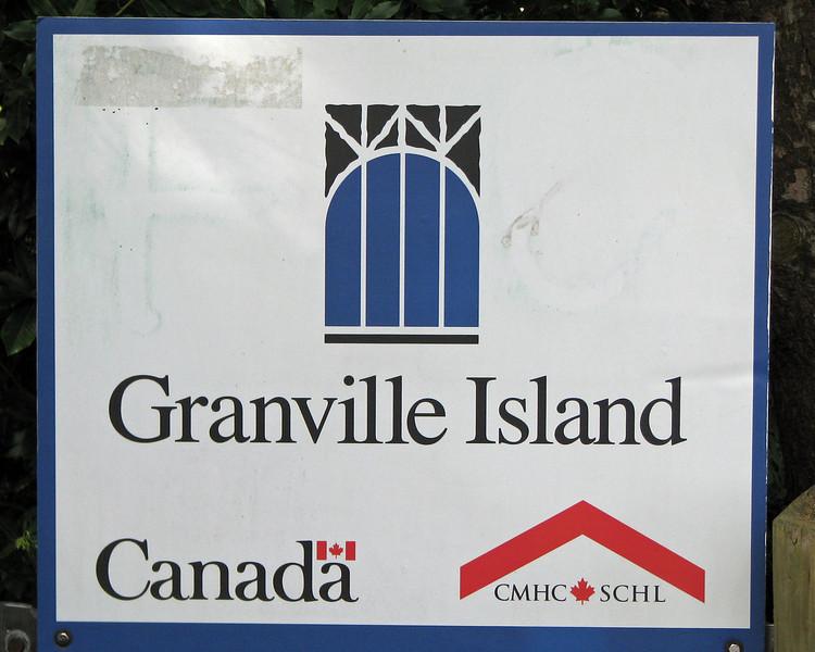 Vancouver, BC. Granville Island park.