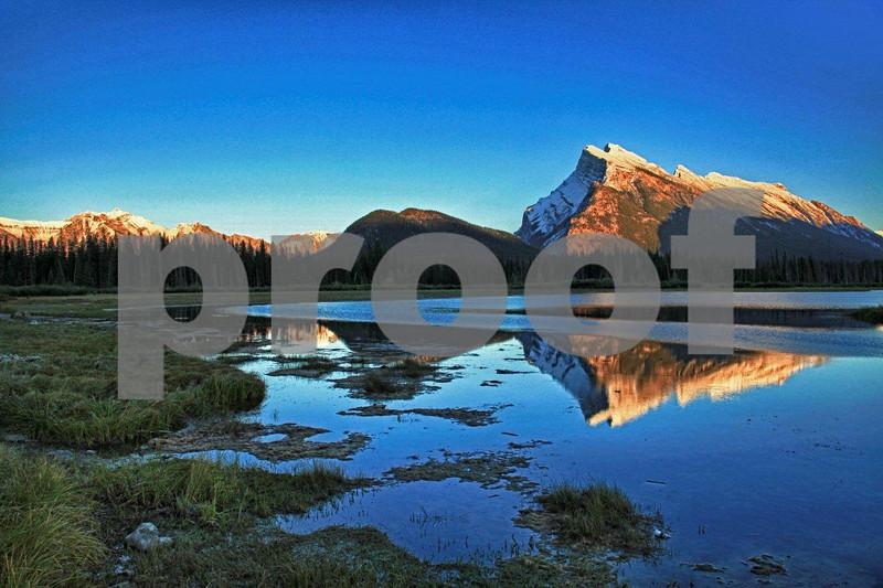 Vermillion Lakes, Banff 5051_HDR