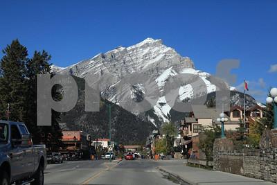 Banff downtown 4984