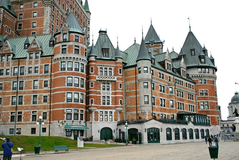 Hotel Frontenac in Quebec City, Canada.