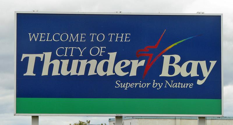 Thunder Bay, Ontario, Canada.