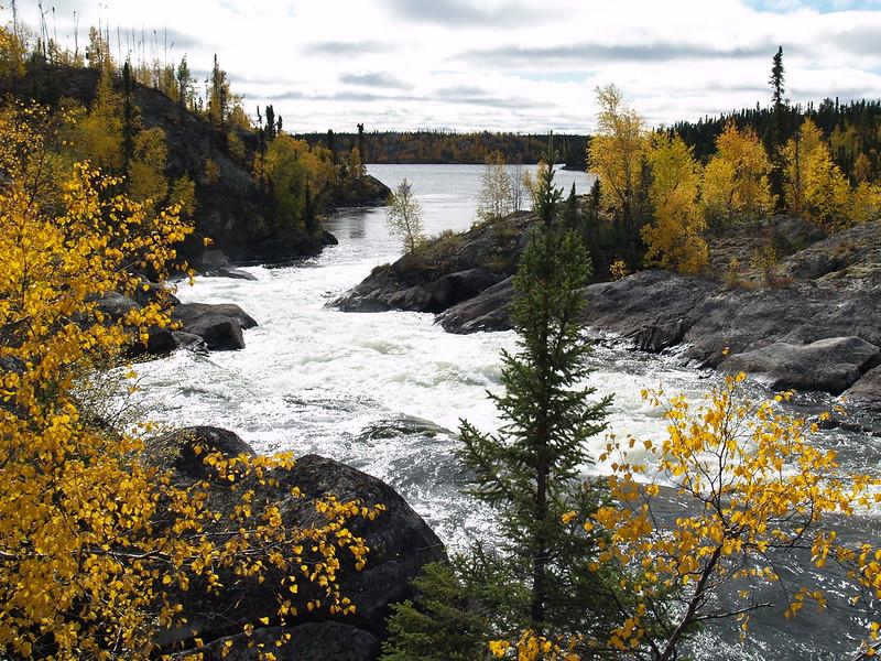 Saskatchewan, Canada 60 miles south of the Northwest Territory