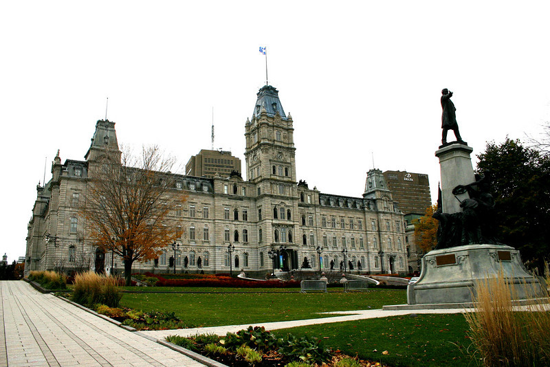 Quebec City government building.