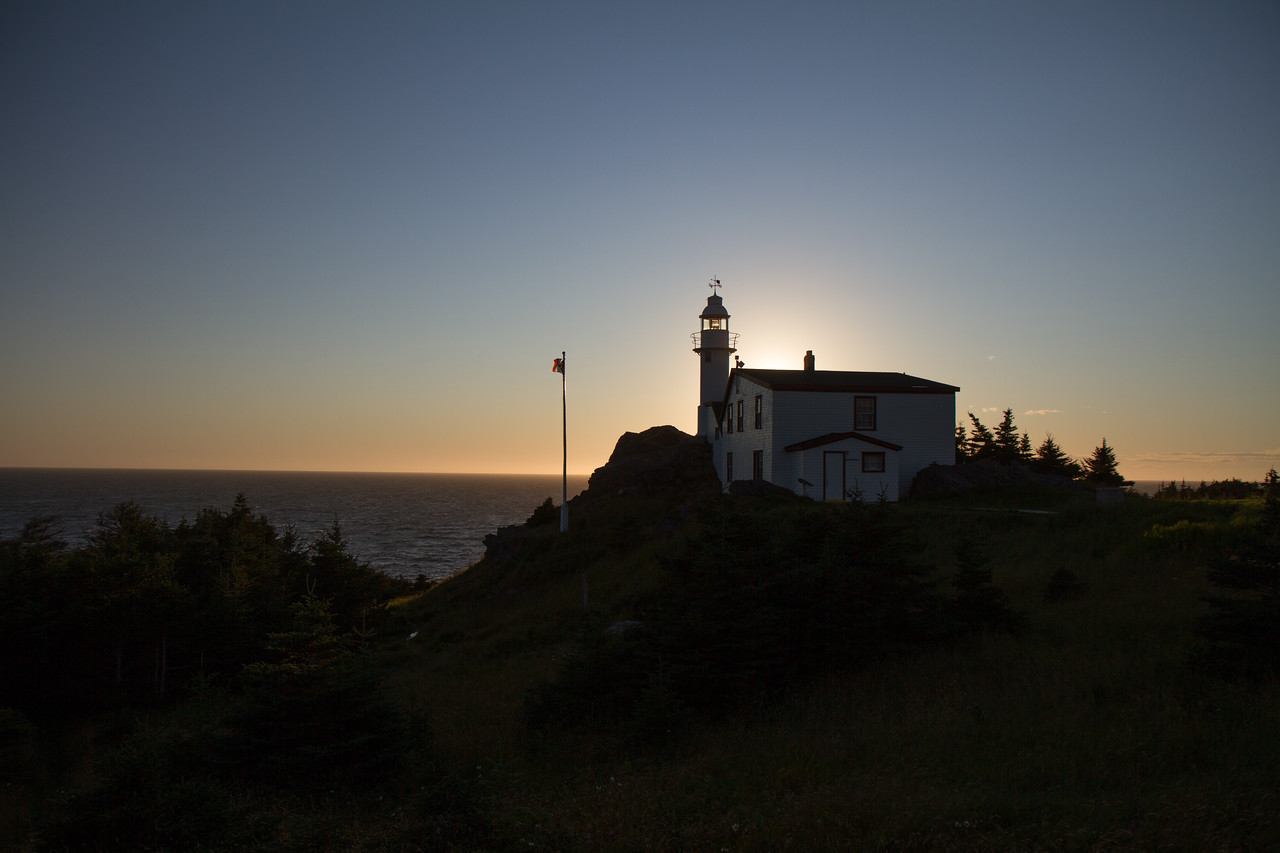 The lighthouse at Woody Cove