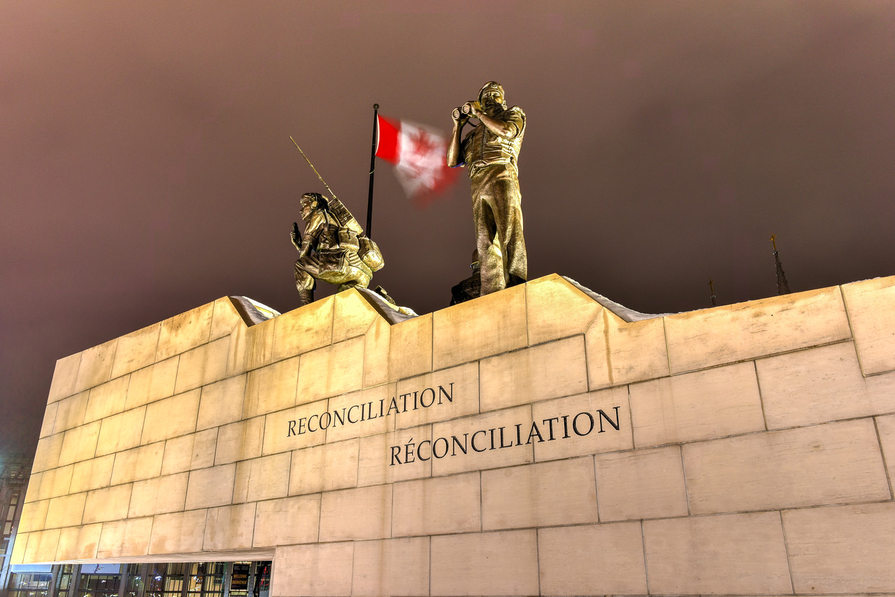 Reconciliation: The Peacekeeping Monument - Ottawa - Canada